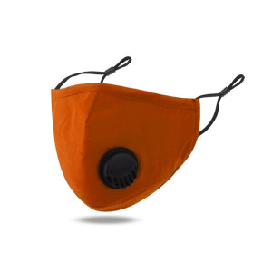 Dustproof, breathable, washable mask, adjustable ear buckle face mask With breathing valve