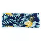 Повязка для волос с принтом и узлами Богемская широкая кромка вязанная спортивная повязка для волос