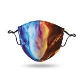 Dustproof, breathable, washable mask, adjustable ear buckle face mask