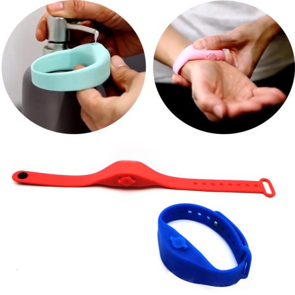 Hand Sanitizer dispenser refillable bracelet for hand washing, wristband