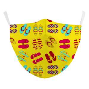 MOQ50 New customized design adult 3D digital printing protective mask can put PM2.5 filter adult  face mask