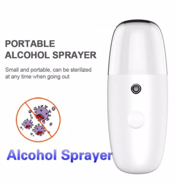 Water replenishing apparatus, humidifier, nano sprayer, alcohol disinfectant sprayer, USB charging, cold spraying
