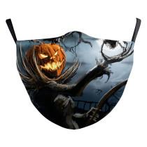 MOQ50 Halloween Neue benutzerdefinierte Design-3D-Digitaldruck-Schutzmaske für Erwachsene kann PM2.5-Filter für Erwachsene Gesichtsmaske setzen