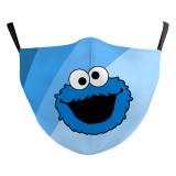 MOQ50 Neues kundenspezifisches Design Kinder 3D Digitaldruck Schutzmaske kann PM2.5 Filter Kinder Gesichtsmaske setzen