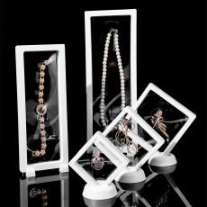 Película de PE caja de suspensión transparente caja de presentación collar pulsera caja de almacenamiento de joyas caja de embalaje de joyería