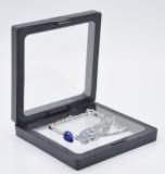 Полиэтиленовая пленка, прозрачная подвесная коробка, витрина, ожерелье, браслет, коробка для хранения ювелирных изделий, упаковка для ювелирных изделий