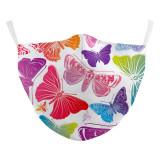 Papillon nouveau masque de protection d'impression numérique adulte de conception personnalisée 3D peut mettre un masque de filtre PM2.5 adulte