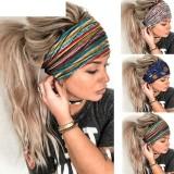 Сетчатая кружевная повязка на голову модная вышивка эластичная повязка на голову банданы