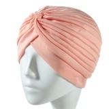Women's face washing band with fashionable hair cap bandans