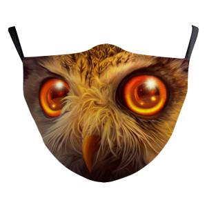 La nueva máscara protectora de impresión digital 3D para adultos de diseño personalizado puede poner máscara facial para adultos con filtro PM2.5