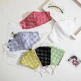 Fashion face masks,fabric, washable mask, adjustable ear buckle, double layers shining face mask