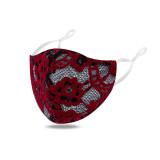 Модные маски для лица, ткань, моющаяся маска, регулируемая пряжка для ушей, двухслойная сияющая маска для лица
