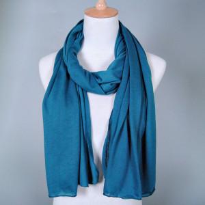 Bufanda femenina de un solo color bufanda de algodón otoño invierno
