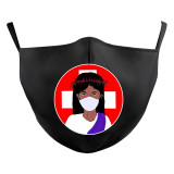 MOQ50 Взрослый Новый индивидуальный дизайн 3D-цифровая печать защитная маска может поставить маску для лица с фильтром PM2.5 для взрослых