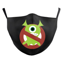 La nueva máscara protectora de impresión digital 3D de diseño personalizado para adultos puede poner máscara facial para adultos con filtro PM2.5