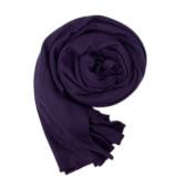 Single color female scarf autumn winter cotton scarf