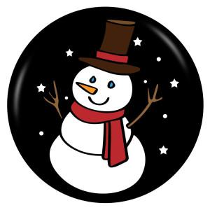 Noël 20MM émail peint en métal imprimé boutons pression bijoux