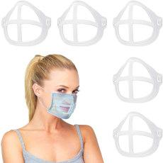 MOQ50 Cojín interior del soporte de la máscara El artefacto de soporte 3D se puede reemplazar y lavar de forma cómoda, transpirable y sin lápiz labial
