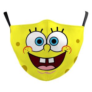 Enfants nouveau design personnalisé masque de protection d'impression numérique 3D peut mettre le filtre PM2.5 masque facial pour enfants