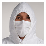 Isolation clothing protective clothing peritoneal whole body anti epidemic all-in-one hooded protective clothing