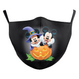 Children New customized design 3D digital printing protective mask can put PM2.5 filter Children  face mask