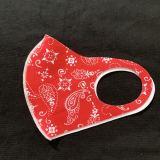 Masque de soie de glace de couleur de protection lavable et anti-poussière