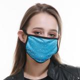 MOQ10 Пылезащитная модная цветная алмазная хлопковая ткань с маской для лица со стразами