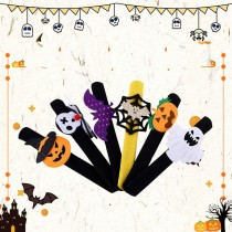 Halloween slap-ring Skulls Slap-ring decoraciones para fiestas