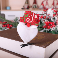 Christmas ornaments Santa Claus Snowman elk Christmas hairpin Felt Christmas headdress hairpin