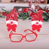 Décorations de personnalité de Noël Lunettes de Noël cadre enfants adultes jouets de dessin animé habillés cadeaux