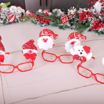 Christmas personality decorations Christmas glasses frame adult children cartoon toys dressed up gifts