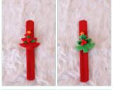 Рождественское похлопывающее кольцо Санта-Клаус на запястье игрушка кольцо в ладоши (два стиля наугад)