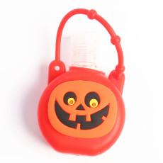 MOQ10 30ML Halloween se puede poner en perfume líquido para lavado de manos y otras fundas redondas de silicona (con botellas)