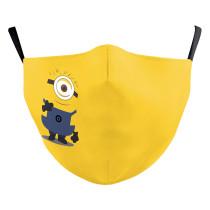 MOQ10 La máscara protectora de impresión digital 3D para niños puede poner una mascarilla de filtro PM2.5