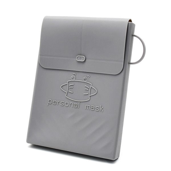 Clip de almacenamiento de máscara de silicona clip de almacenamiento de máscara de almacenamiento de alimentos creativo portátil