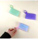 Silicone mask storage clip portable creative food storage mask storage clip
