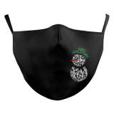 MOQ50 Взрослый индивидуальный дизайн для губ, моющаяся модная маска для лица с карманом для фильтра, эластичные ремешки для ушей из мягкой ткани