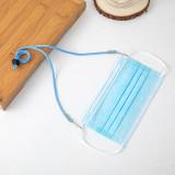 Masque facial corde masque facial anti-perte de corde d'extension corde anti-dérapante corde pour infirmière médecin cou corde suspendue ceinture