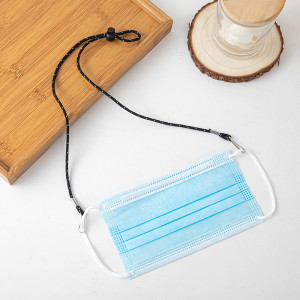 Gesichtsmaske Seil Gesichtsmaske Anti-Verlierseil Verlängerungsseil Anti-Rutsch-Seil für Krankenschwester Arzt Halsseil hängenden Gürtel