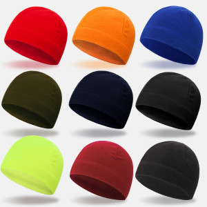 Warm hat European and American winter polar fleece hat men's ski cap riding cap cold Fleece Cap