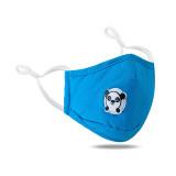 Cartoon Bear masque ajustable de couleur unie lavable et respirant anti-poussière et respirant avec valve respiratoire
