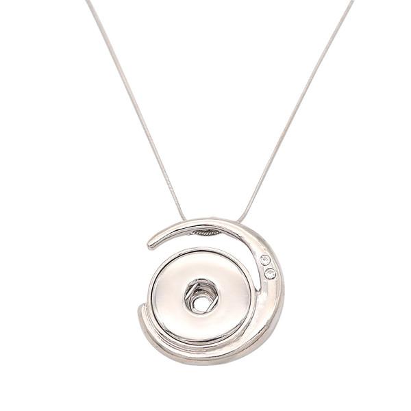Halskette Silber 46cm Kette fit 20MM Brocken schnappt Schmuck