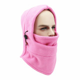 MOQ10 équitation en plein air multifonctionnel chaud ski cou couverture écharpe équitation coupe-vent et résistant au froid polaire masque facial coiffe casquette d'équitation cou guêtre