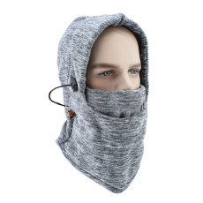 Outdoor riding multifunctional warm ski neck cover scarf riding windproof and cold proof Fleece face mask headdress riding cap neck gaiter