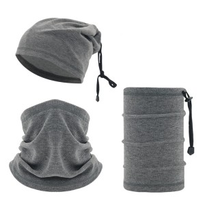 Invierno multifuncional cuello cálido esquí cordón deportes al aire libre a prueba de viento cubierta para la cabeza cubierta para el cuello montar máscara facial fría polaina para el cuello