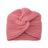 Bonnet tricoté en laine cachemire Bonnet automne et hiver