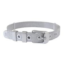 NUEVO Charm Bracelet Pulseras de acero inoxidable 21CM (Ancho: 8 mm)