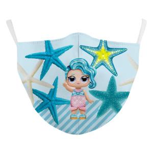 Kinder Neue benutzerdefinierte Design 3D-Digitaldruck Schutzmaske kann PM2.5 Filter Kinder Gesichtsmaske setzen