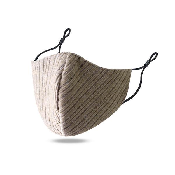MOQ10 Masque facial en coton imprimé lavable et respirant avec bouton d'oreille réglable pour la ventilation