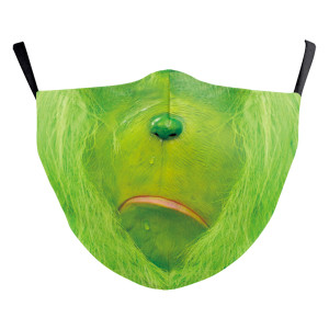 MOQ10アダルト3Dデジタル印刷保護マスクはPM2.5フィルターフェイスマスクを置くことができます